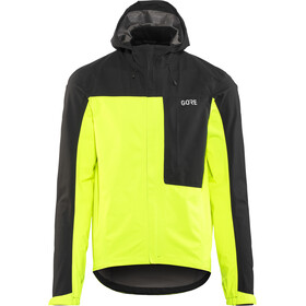 GORE WEAR C3 Gore-Tex Paclite Hooded Jacket Herre neon yellow/black
